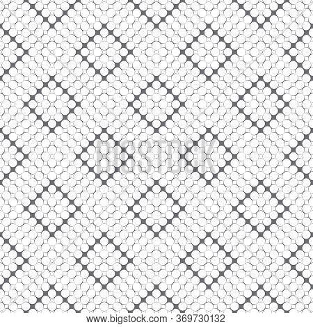 Seamless Pattern. Modern Stylish Texture. Infinitely Repeating Geometrical Texture With Small Rhombu