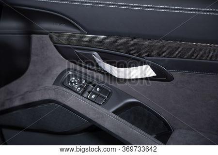 Lightweight Door Handle Of Sports Car Interior