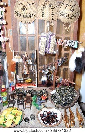 Palawan, Ph - Nov 28 - Souvenir Items Display At The Shop On November 28, 2009 In Puerto Princesa, P