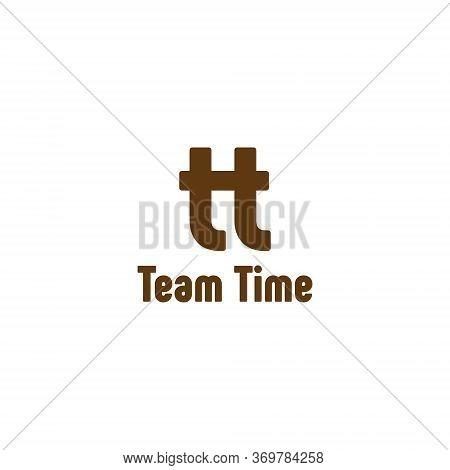 Initial letter tt logo template design cute simple
