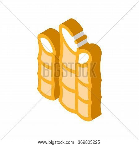 Agricultural Cane Icon Vector. Isometric Agricultural Cane Sign. Color Isolated Symbol Illustration