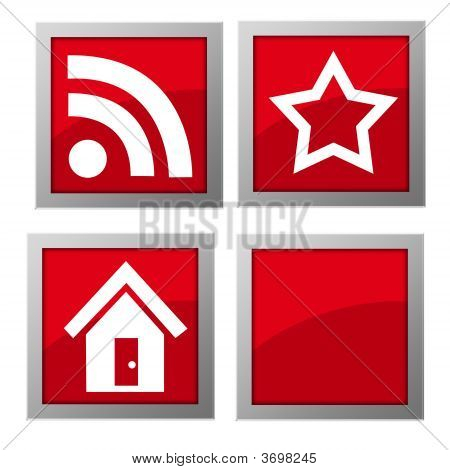 Web Icons Red