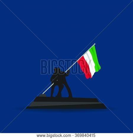 Festa Della Repubblica Italiana (translate: Italy Republic Day). Happy National Holiday. Celebrated