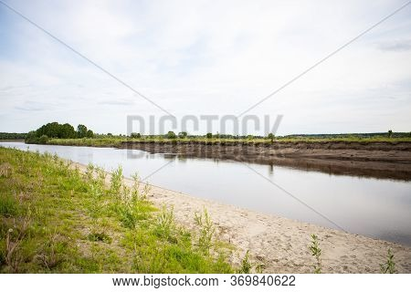 View Of The Tara River, Omsk Region, Siberia, Russia. Surroundings Of The Siberian Expanses. Picture