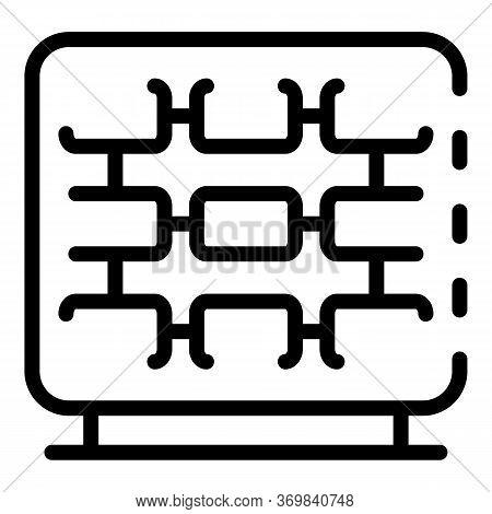 Radio Engineer Device Repair Icon. Outline Radio Engineer Device Repair Vector Icon For Web Design I