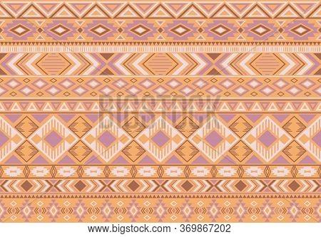 Indonesian Pattern Tribal Ethnic Motifs Geometric Seamless Vector Background. Rich Indonesian Tribal