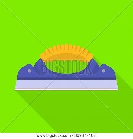 Vector Illustration Of Scraper And Glass Symbol. Web Element Of Scraper And Tool Vector Icon For Sto