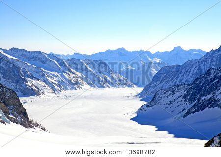 Great Aletsch Glacier, Switzerland