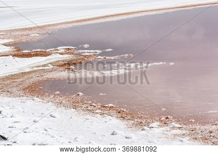 Salt Production In The Camargue District, Southern France