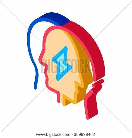 Human Versus Icon Vector. Isometric Human Versus Sign. Color Isolated Symbol Illustration