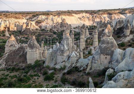 Rocks In The Valley Of Love Of Capadocia