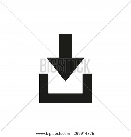 Icon Of Entrance Or Log In Sign.entrance Vector Icon , Lorem Ipsum Flat Design.