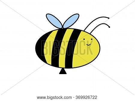 Bee. World Beekeeper Day. World Bee Day. Flying Insect. Useful Insect. Doodle Bee. Figure Bee For Ch