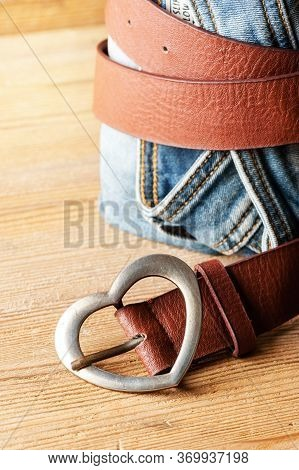Heart Shaped Belt Buckle