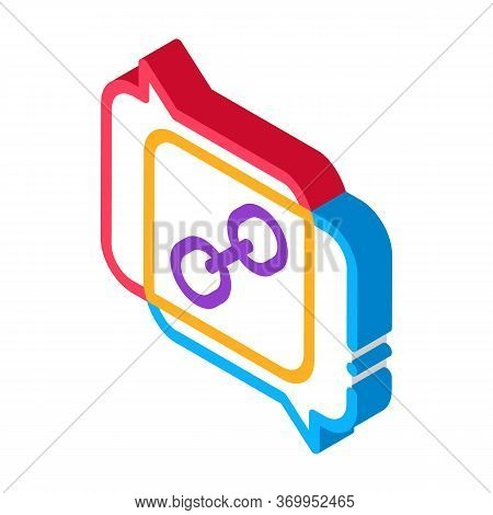 Coincidence Of Two Opinions Icon Vector. Isometric Coincidence Of Two Opinions Sign. Color Isolated