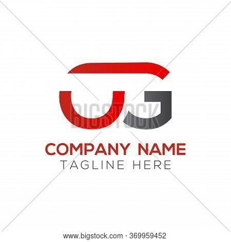Initial Simple Letter Og Logo Design Vector Template. Abstract Minimal Og Letter Logo Design