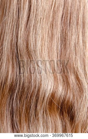 Healthy Brown Hair. Hair. Fair-haired Hair Color