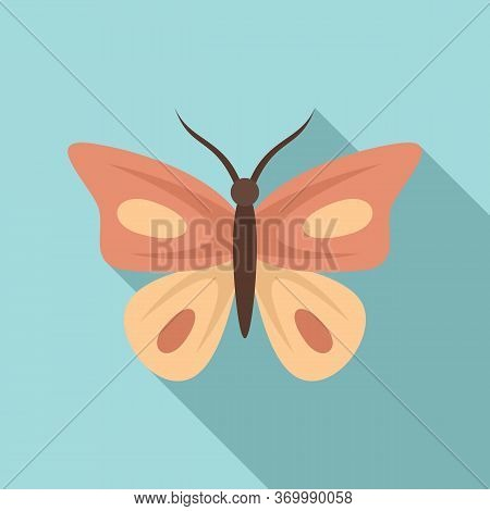 Paradise Butterfly Icon. Flat Illustration Of Paradise Butterfly Vector Icon For Web Design