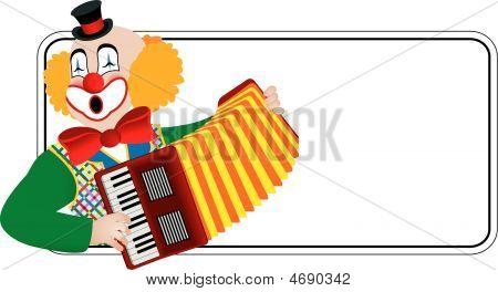 Clown The Accordionist