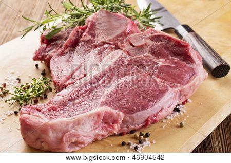 porterhouse steak raw