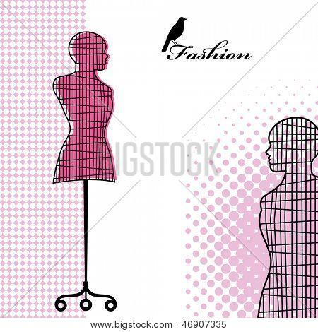 Mannequin wire bodyform