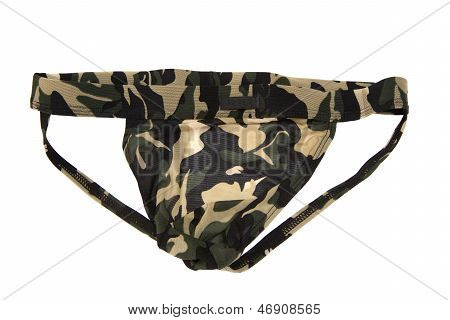 Male's Thong Isolated