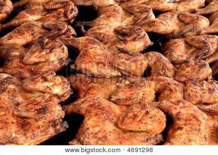 Barbecue Chicken Closeup