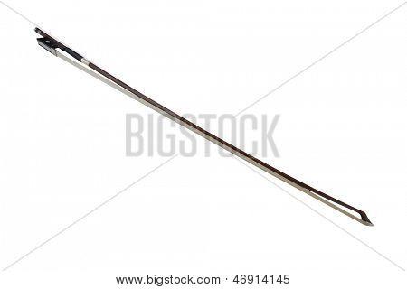 Fiddlestick aislado bajo el fondo blanco