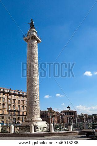 Italy. Rome. Trojan column