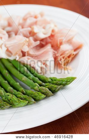 Asparagus And Prosciutto