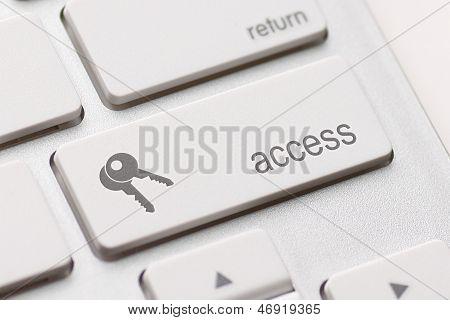 Access Enter Key