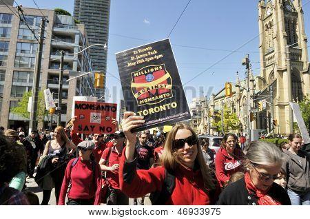 Anti Monsanto rally.