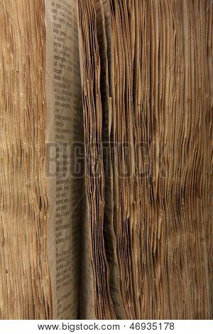 Old book pages, vintage background