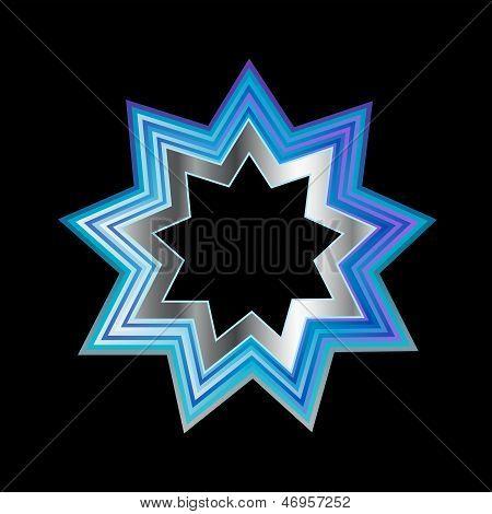Bahai Faith Nine Pointed Star
