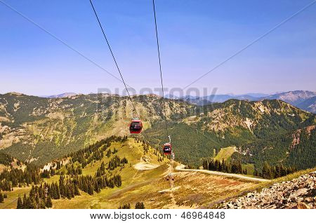 The Cable Car at Crystal Mountain