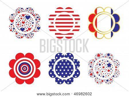 Patriotic Flowers