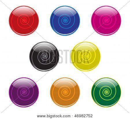 Swirl Buttons