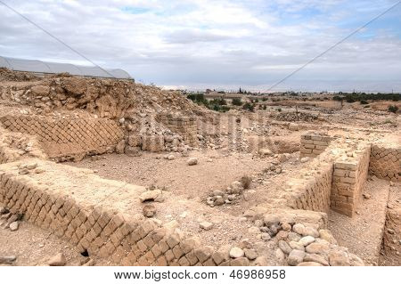 King Herod's Palace Ruins