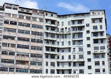 Abandoned building in Hong Kong
