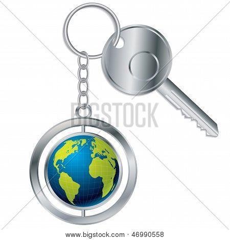 Globe Keyholder