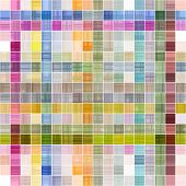 colorful seamless texture of checks partly in rows poster