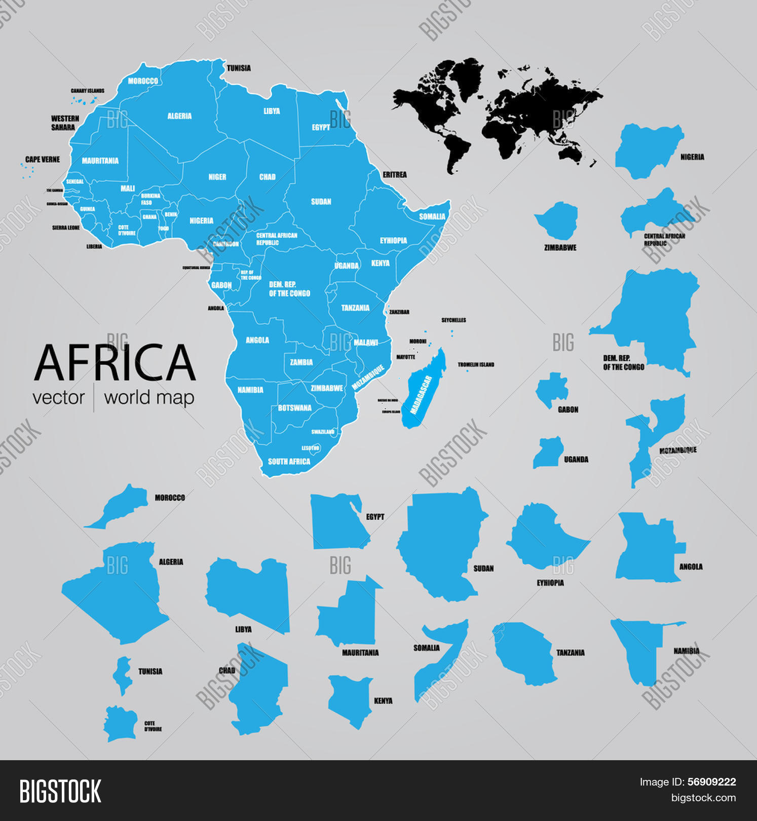 map of africa vector Map Africa Vector Vector Photo Free Trial Bigstock map of africa vector