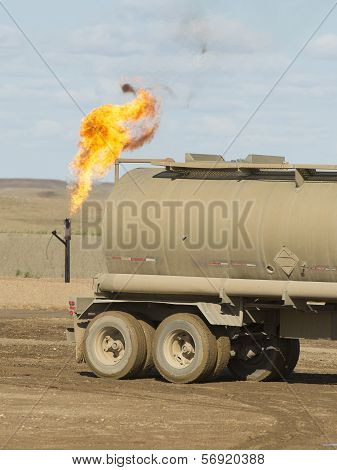 Flaring Gas