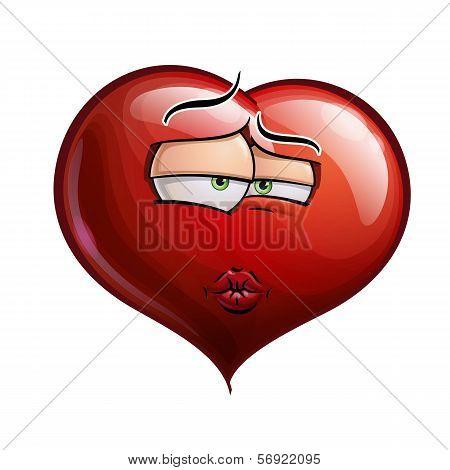 Heart Faces - Smooch.