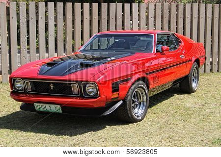 Ford Mustang Mach