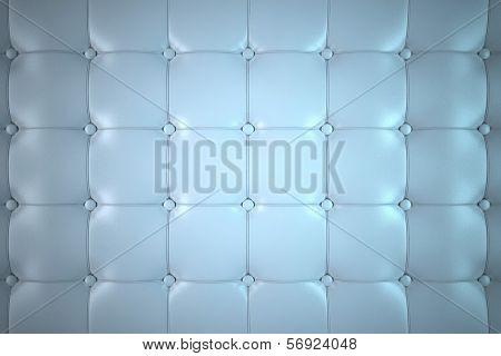 Blue Leather Backdrop