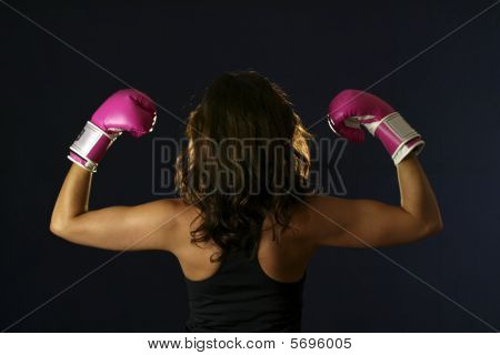 Female boxer