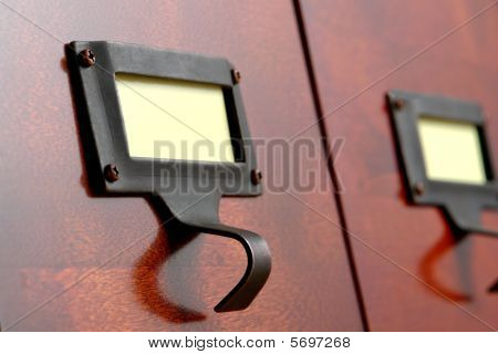 Library Cabinet Drawer Pull