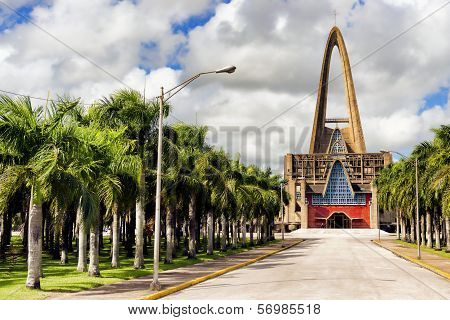 Basilica of Nuestra Senora de la Altagracia at Republica Dominicana