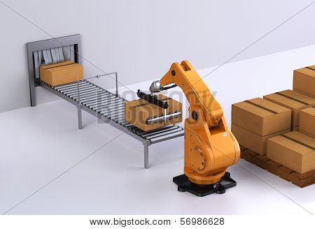 Robotic Palletising